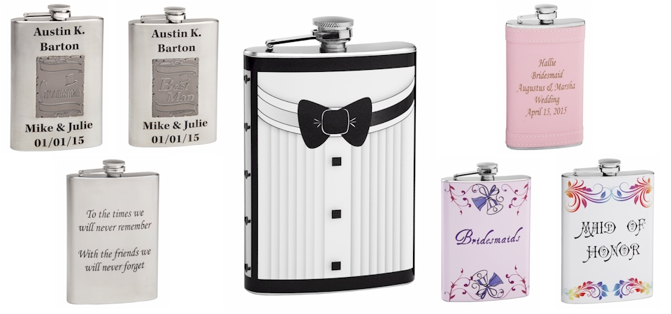Wedding Flasks Usher - Wedding Flasks